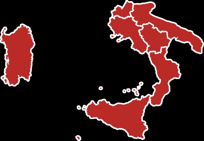 Italia candidati cig sud isole